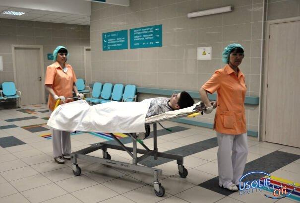 Правила транспортировки пациента на каталке