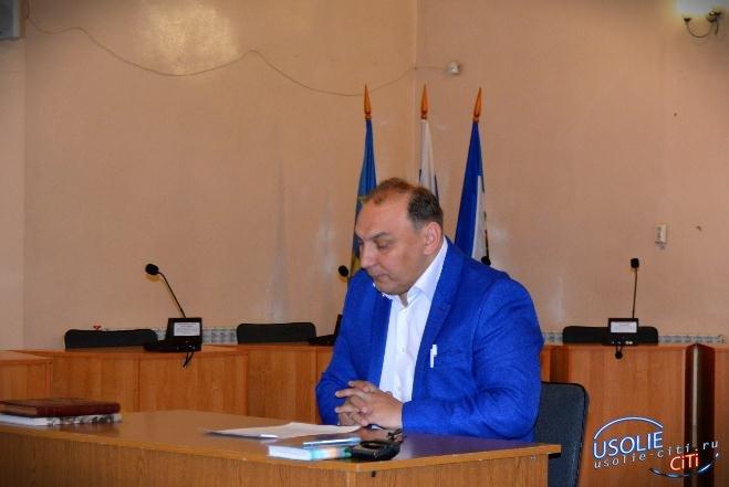Усольский мэр города встретился с депутатами Законодательного Собрания Иркутской области