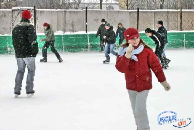 Когда усольчане наденут лыжи и коньки? Погода не дает отдыхать по-спортивному
