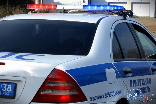 В Усольском районе после погони поймали ангарчанина, угнавшего машину в Черемхово