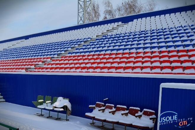 Ремонт усольского стадиона отстает от графика , но уже завершается