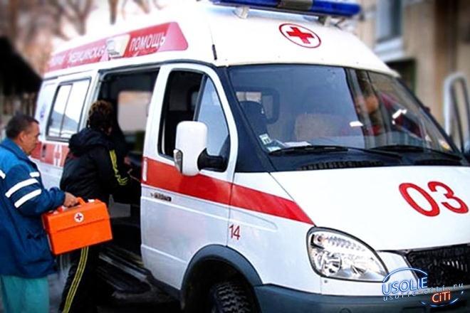 В Усолье 10-летняя девочка попала под  колеса автомобиля