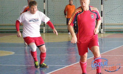 Усольские футболисты вышли на второе место