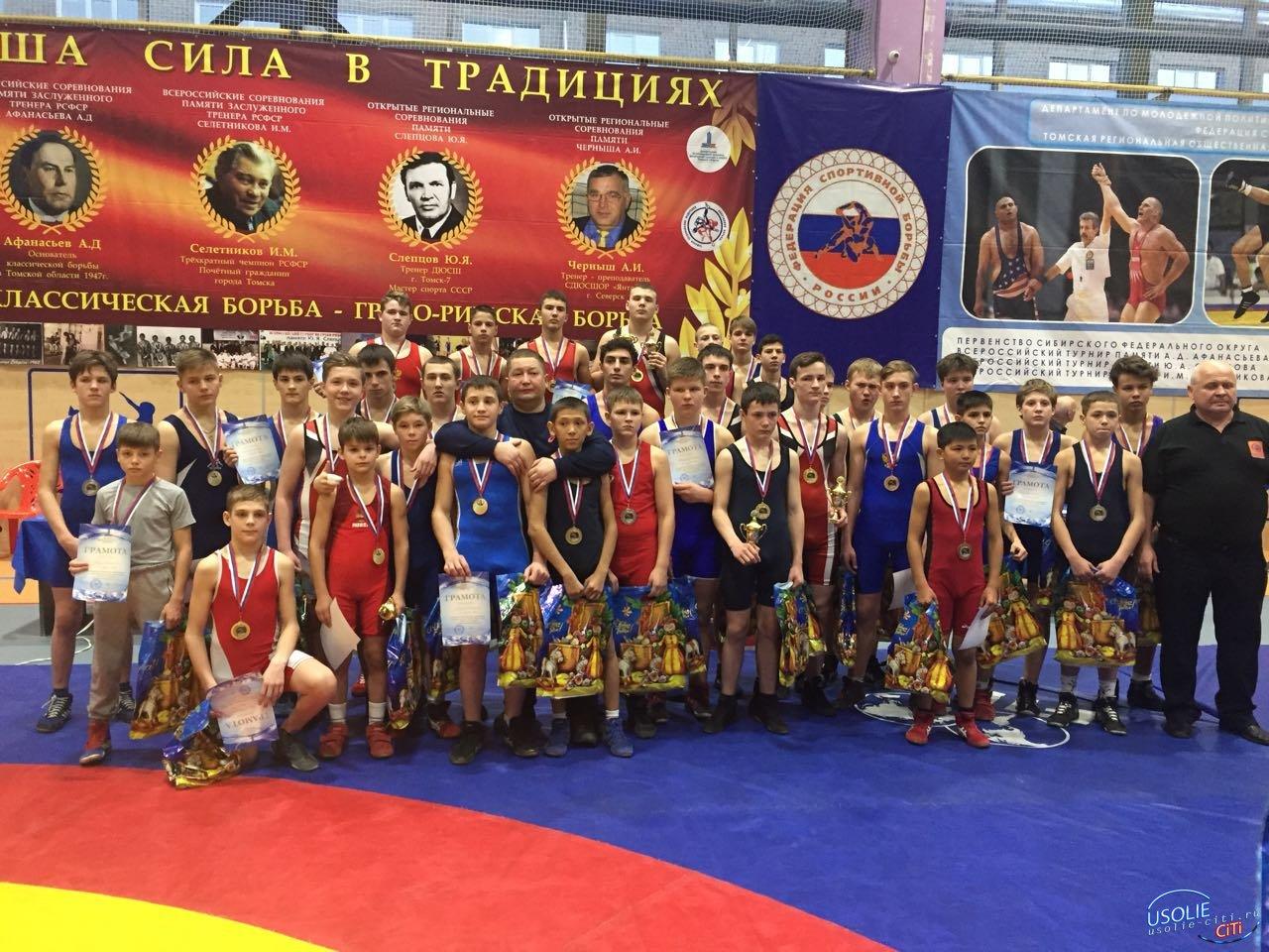 Давид Фрунзе и Ярослав Суворов завоевали медали. Победы усольских борцов