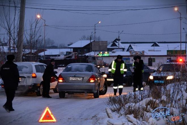 В Усолье сотрудник полиции попал в аварию