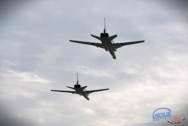 Бомбардировщики, участвовавшие в войне в Сирии, вернулись домой на авиабазу Белая