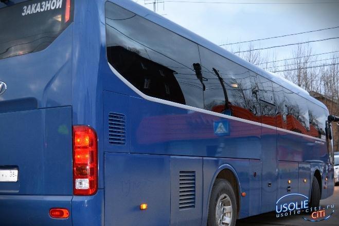 В Усолье проверяют автобусы, которые перевозят детей