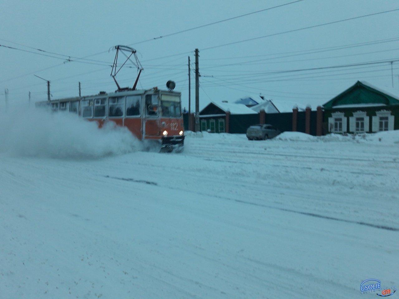 Как в новогоднюю  ночь и 1 января будут ходить трамваи в Усолье