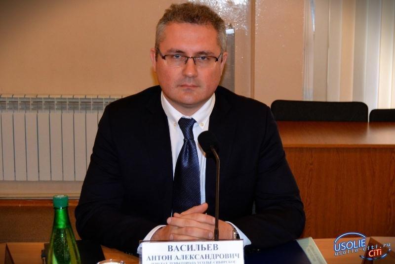 Антон Васильев: Искренне хочу пожелать нашему Усолью стабильности и процветания в новом году