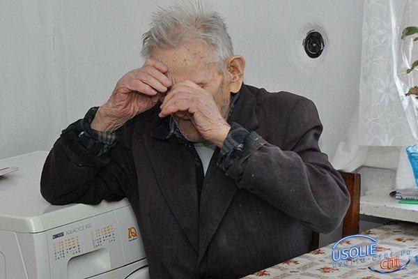 В Усолье обокрали  68-летнего сторожа