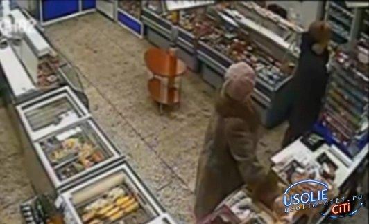 Как усольскую пенсионерку поймали на краже в магазине