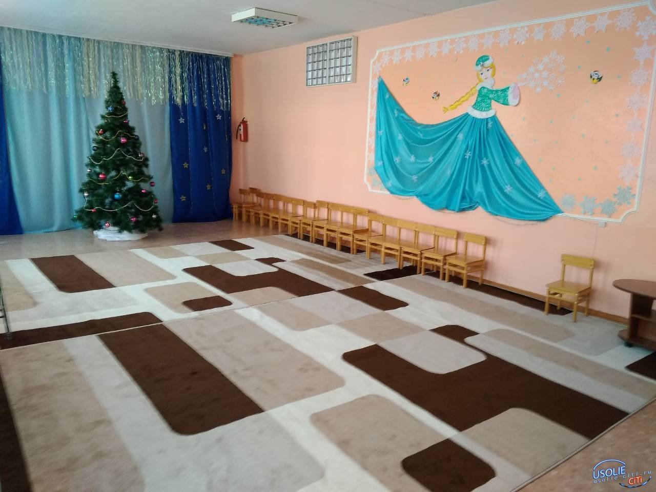 Спасибо за подарок! Музыкальный зал усольского детского сада преобразился