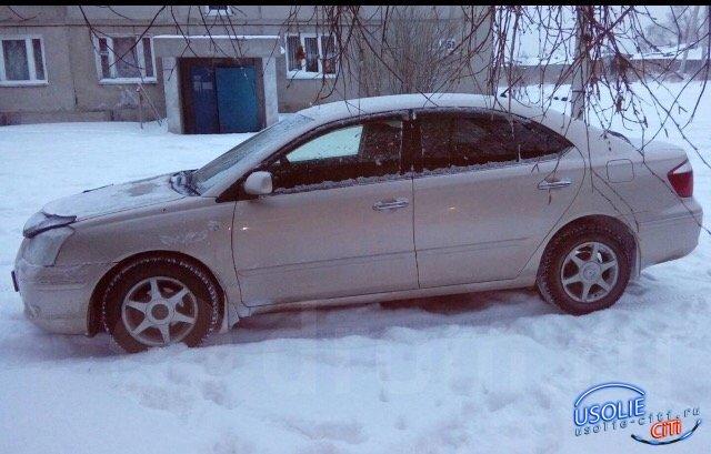 Угнанную в усольском дворе машину обнаружили в кювете