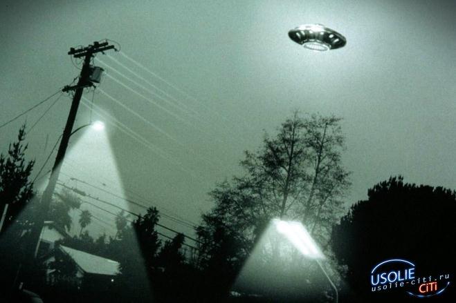 НЛО и гуманоиды приземлились в Усольском районе?