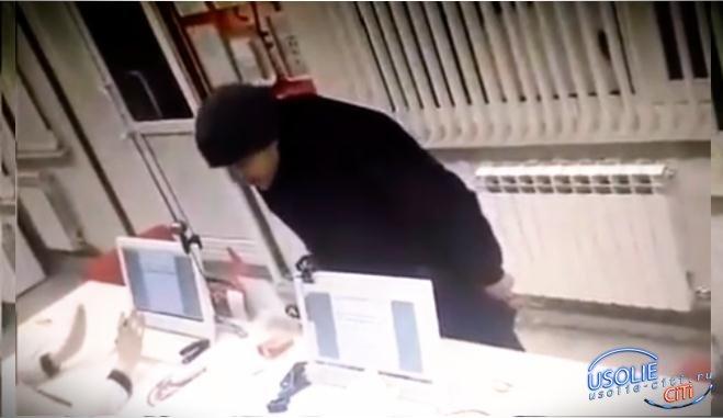 ВИДЕО, В Усолье ограбили - офис «Быстрозайма»