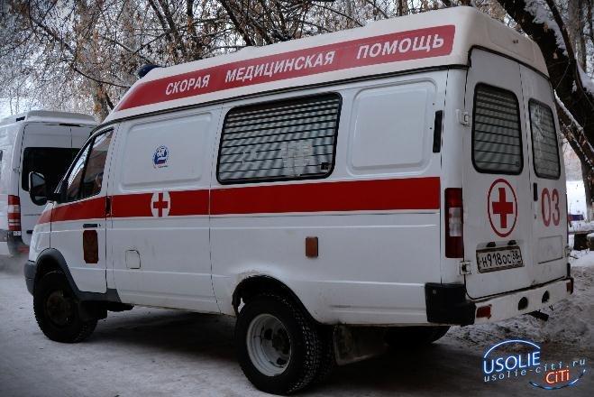 Сегодня утром в районе администрации города маршрутка сбила усольчанку. Женщина в реанимации.