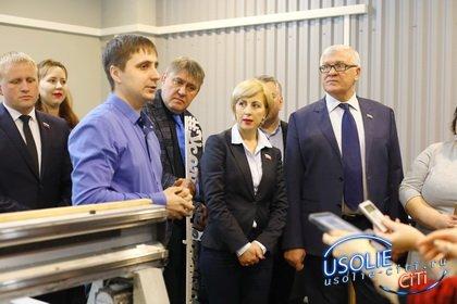 Делать украшения для улиц предложил С. Брилка в технопарке Усолья-Сибирского