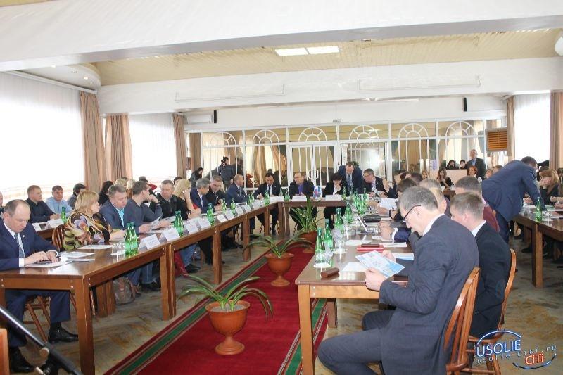 Усолье снова встречало большую делегацию из области
