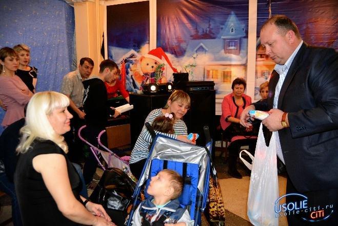 Фотоотчёт культурных событий в городе.  40 подарков детям с ограниченными возможностями