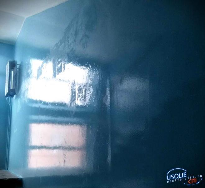 Усольчан в жилом доме по Куйбышева заставляют дышать запахом краски