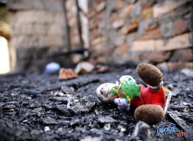В Мишелевке пятилетний ребенок, оставшись дома один, погиб при пожаре
