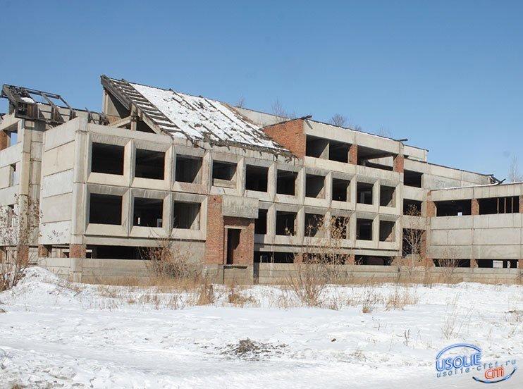 Усольская недостроенная школа попала
