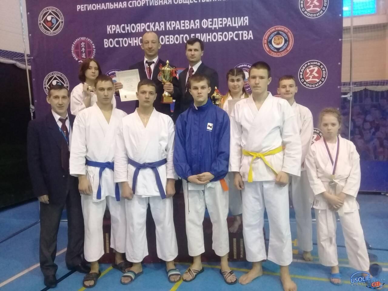 Усольский «Ритм» опять  собрал урожай медалей