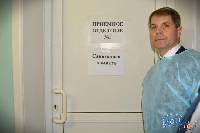Министру здравоохранения провели экскурсию по больницам Усольского района