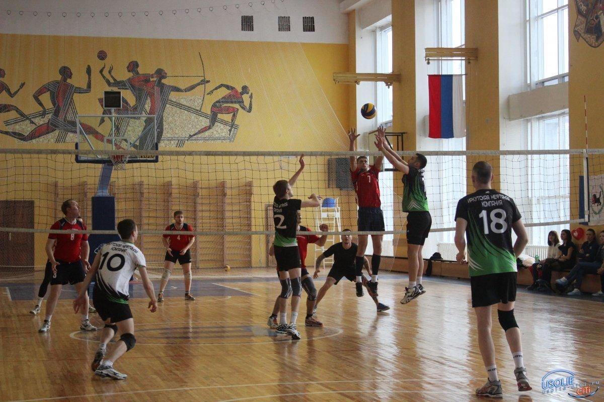 Пока усольские волейболисты в лидерах