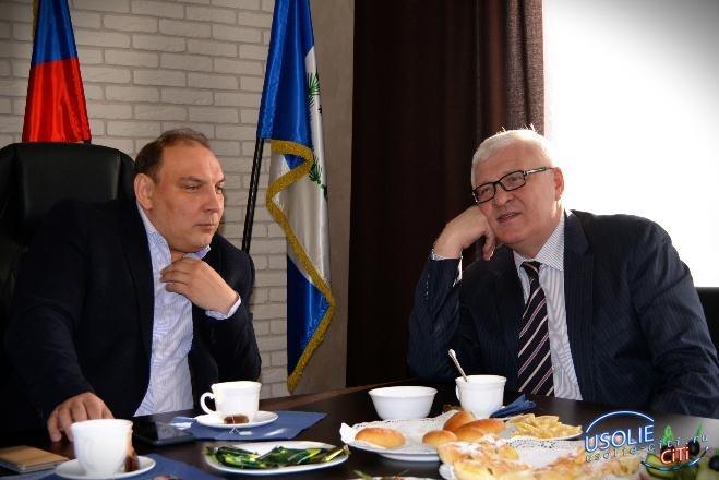 Сергей Брилка - председатель Заксобрания свой день рождения отметил в Усолье