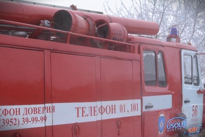 Дом пострадал от огня в Тельме