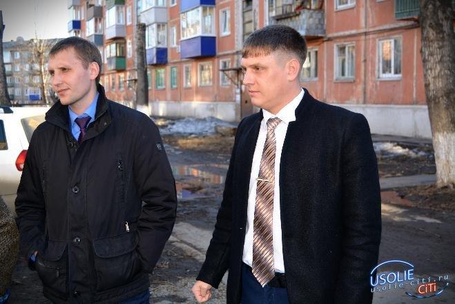 Весеннее обострение: Усольский депутат встретился с жителями города