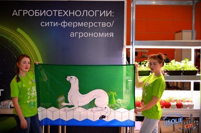 Флаг Усольского района в Технопарке «Сколково»