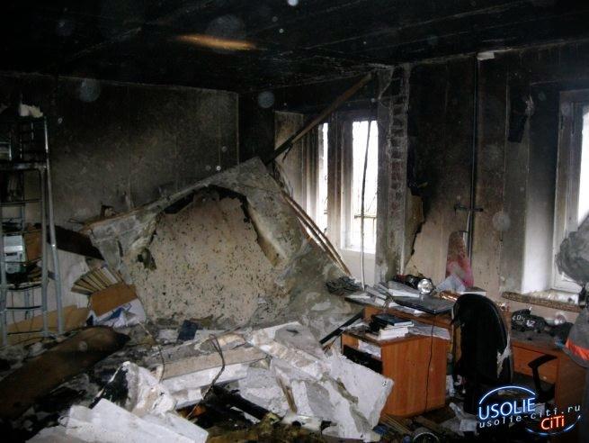 ЧП в Усолье: В жилом доме взорвался газовый баллон