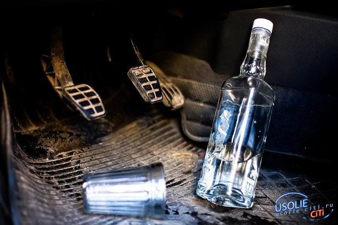 Усольские водители меньше пить не стали