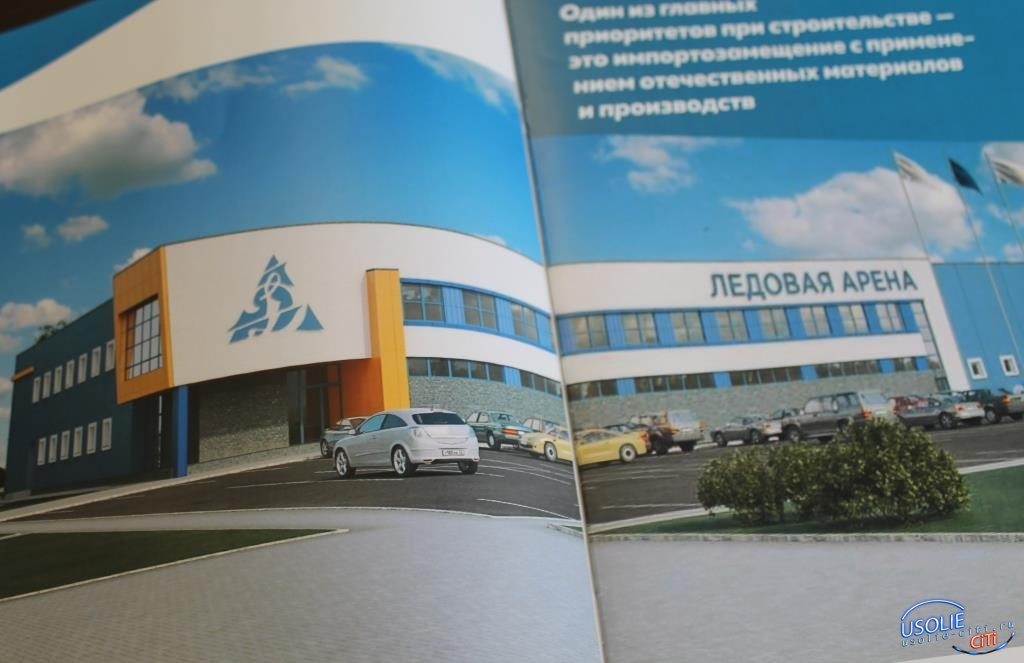 Ждем перемен. Область и Министерство спорта РФ поддержало усольскую идею о строительстве ледовой арены