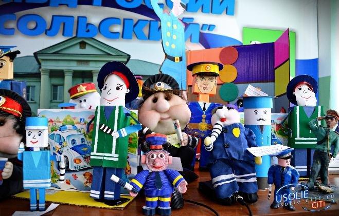 Полицейский дядя Степа:  В Усолье подведены итоги первого этапа конкурса игрушек