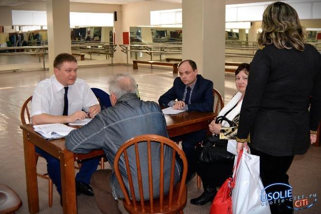 Общественная приемная губернатора области будет работать в Усолье