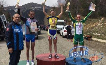 Усольская велогонщица Татьяна Шаманова снова в числе сильнейших в России