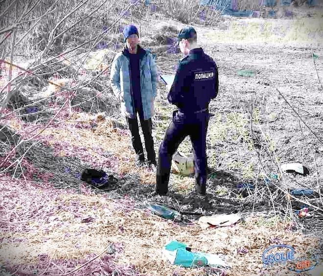 Усольская полиция поймала первых поджигателей травы и мусора