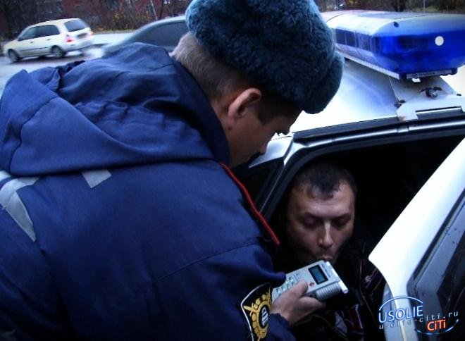 Усольские гаишники подвели итоги. За два дня поймали шесть пьяных водителей