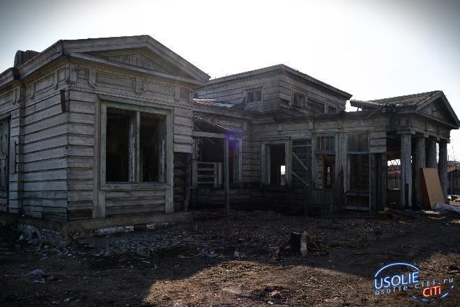 Арендатор  усольской усадьбы Рассушина готовится восстановить в доме-памятнике крышу