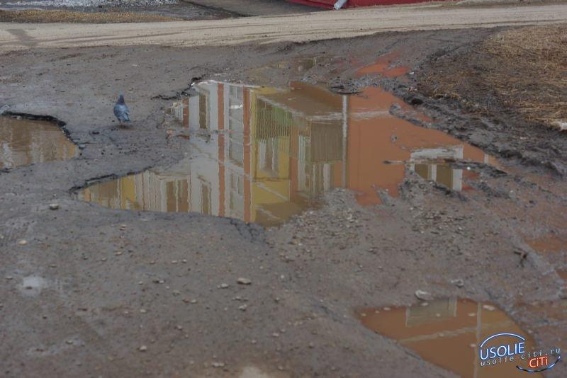 В мае в Усолье начнется ремонт внутриквартальных дорог