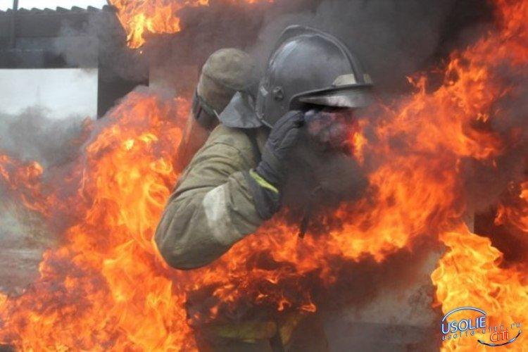 Поджигатель подкараулил и напал на усольских пожарных