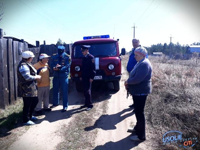 Пенсионер едва не устроил пожар на кладбище в Большой Елани