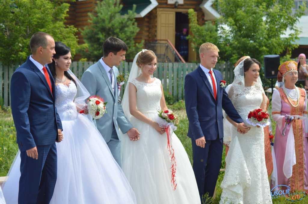 Многие усольские молодожены хотят сыграть свадьбу в День Петра и Февроньи