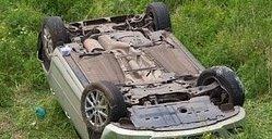 Под Усольем в кювете обнаружен автомобиль с трупом