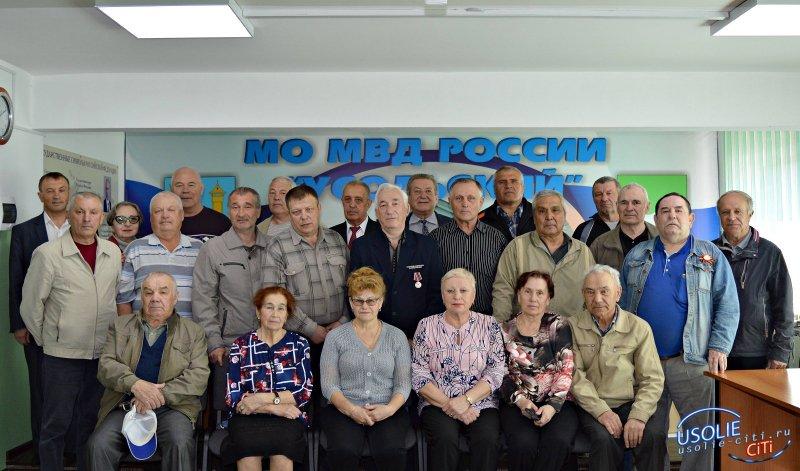 В Усолье избран новый председатель совета ветеранов органов внутренних дел