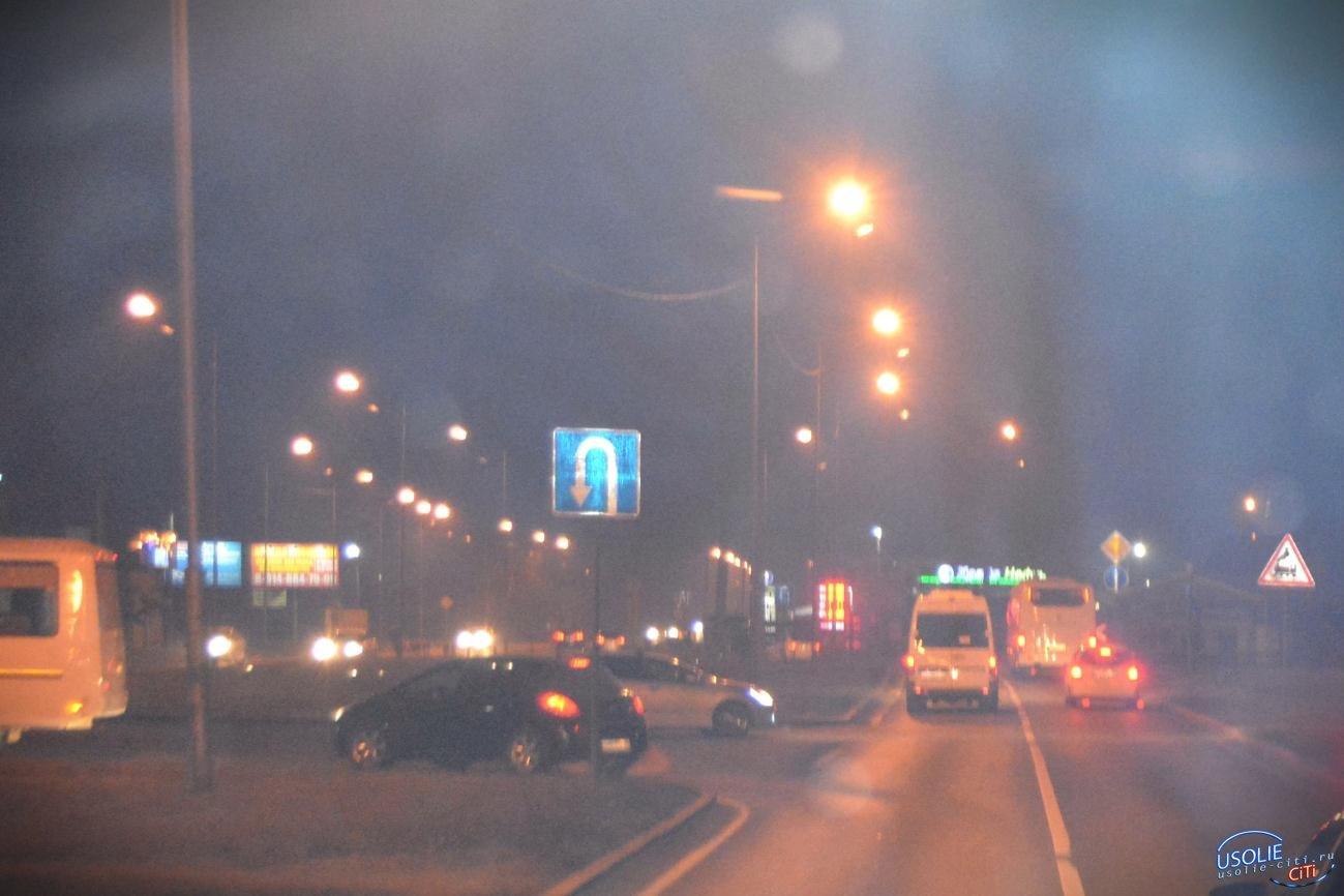 В Усолье улица Карла Маркса засветится фонарями