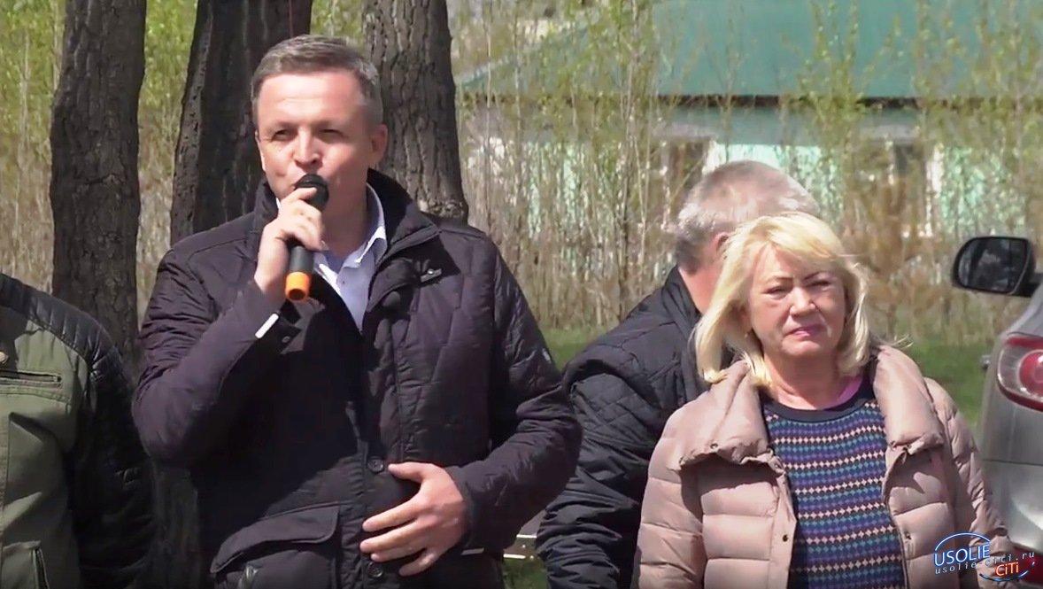 Памяти Петрова. Традиционную усольскую эстафету посетила олимпийская чемпионка